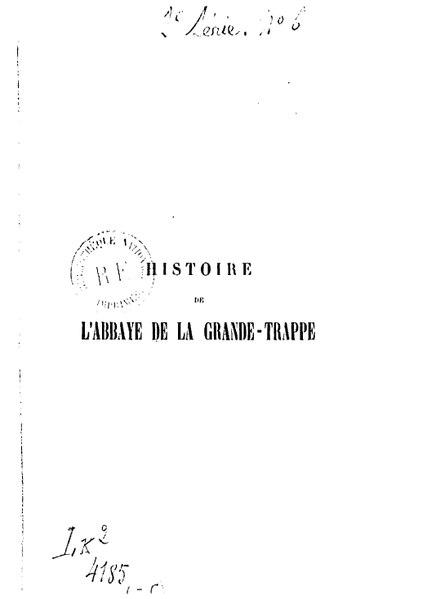 File:Charencey, Histoire de l'abbaye de la Trappe.pdf