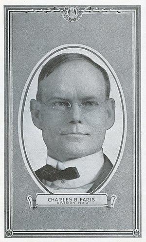 Charles Breckenridge Faris - Image: Charles B. Faris