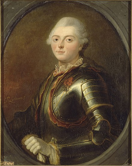 Comte d'Estaing, 1769 portrait by Jean-Baptiste Lebrun