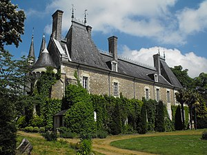 Milly-le-Meugon - The castle of Milly le Meugon