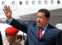 O fórum defende o governo de Hugo Chávez (foto). Recentemente representantes venezuelanos passaram a participar dos encontros. Foto: Marcello Jr/ABr