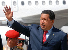Wikipedia: Hugo Chavez at Wikipedia: 220px-Chavez-WSF2005