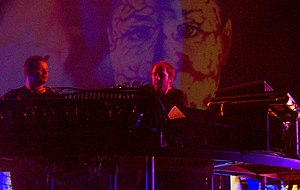 The Chemical Brothers discography - The Chemical Brothers performing live: Ed Simons (left) and Tom Rowlands (right)