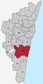 Chennai zones 13 Adyar.png