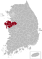 Cheonan Postal central office precinct map.png