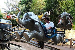 Flying Jumbos - Image: Chessington Flying Jumbos 1