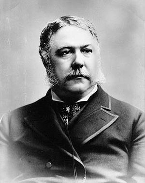 English: Chester Alan Arthur. 21st President o...