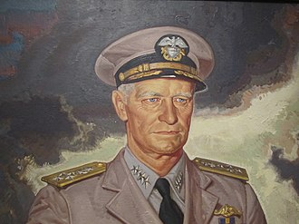Chester W. Nimitz - Nimitz as he appears at the National Portrait Gallery in Washington, D.C.
