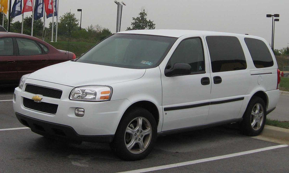 All Chevy 2000 chevy uplander : Chevrolet Uplander — Wikipédia