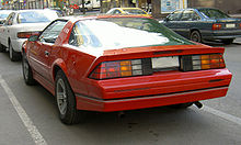 Chevrolet Camaro (третье поколение) — Википедия