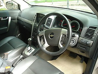 Chevrolet Captiva - Pre-facelift Chevrolet Captiva