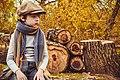 Children autumn logs.jpg