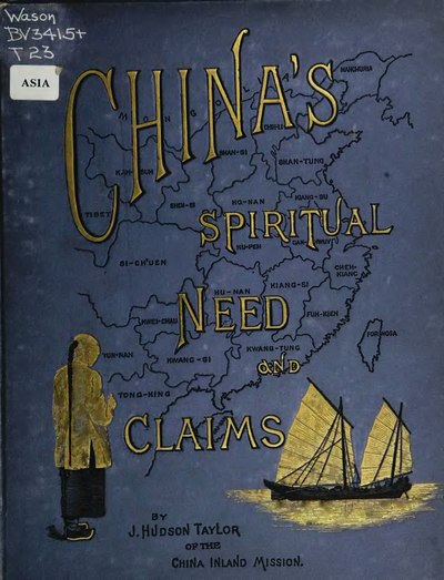 China's spiritual need and claims.djvu
