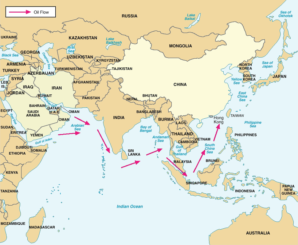 China's Critical Sea Lines of Communication