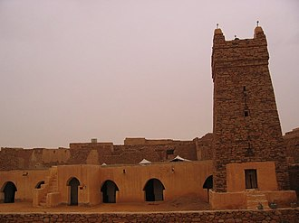 """Chinguetti - The Great """"Friday Mosque"""" of Chinguetti"""