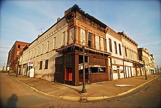 National Register of Historic Places listings in Alexander County, Illinois - Image: Chris Litherland Cairo