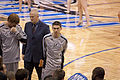 Chris Quinn at bench area Spurs-Magic072.jpg