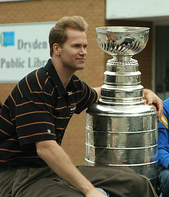 Chris Pronger - Pronger in 2007 after winning the Stanley Cup with the Anaheim Ducks