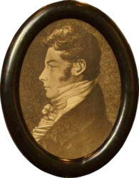 Christen Smith portrait, ca 1810