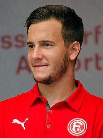Christian Gartner (footballer) - Gartner with Fortuna Düsseldorf in 2013