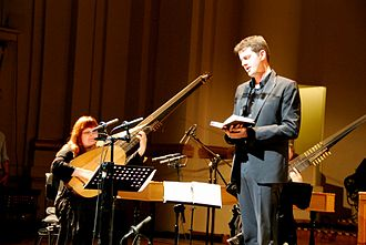 Historically informed performance - Countertenor Philippe Jaroussky, accompanied by Christina Pluhar (theorbo)