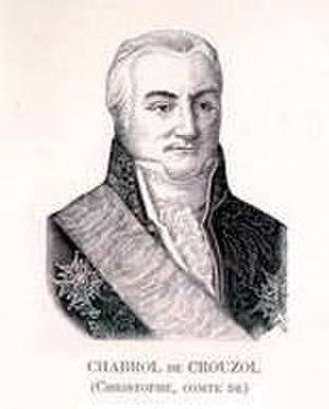 Christophe de Chabrol de Crouzol - Image: Christophe de Chabrol Crouzol