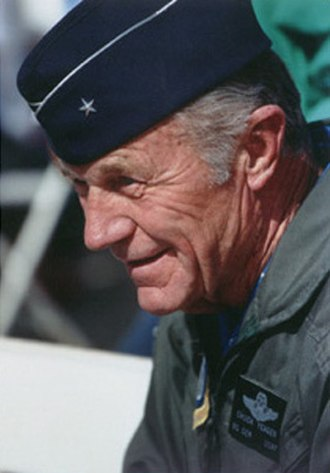 Chuck Yeager - Brigadier General Yeager in 2000