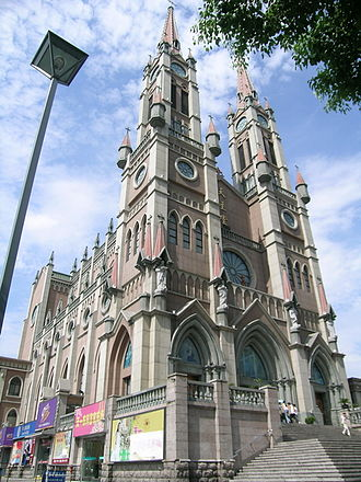 Roman Catholic Diocese of Ningbo - Cathedral of Our Lady of the Assumption in Ningbo
