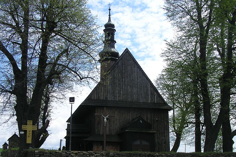 Plik:Church of the Holy Cross in Rdzawka 1.jpg