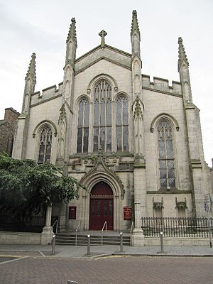 St Andrew's Cathedral, Dundee - Image: Church on Nethergate street