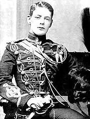 Churchill in millitary uniform in 1895