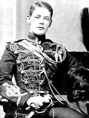 4th Queen's Own Hussars - 2nd Lt Winston Churchill in 1895