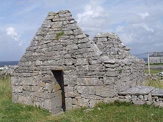 St. Gobnets Church Church in County Galway, Ireland