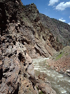 Schlucht des Cimarron River in Colorado