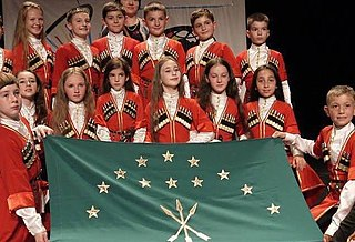 Circassian children