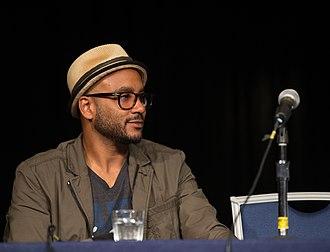 Cirroc Lofton - Cirroc Lofton as member of a panel at a Star Trek DS9 convention