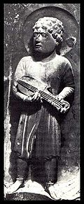 Cithara player from Parma, Italy