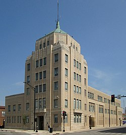 City Building in downtown Champaign