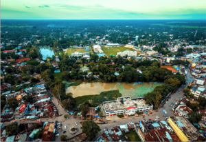 Upper Assam Division - Image: City Skyline Golaghat