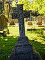 City of London Cemetery Mary Jane Fell lily cross grave monument 1.jpg
