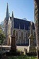City of London Cemetery and Crematorium Anglican Church chapel east facade.jpg