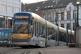 Flexity Outlook  roulant à Bruxelles