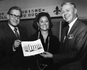 Marie-Claire Kirkland - Marie-Claire Kirkland-Casgrain in 1971
