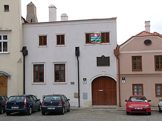 Clement Mary Hofbauer - The building in Znojmo, where Clement Hofbauer served as an apprentice in the bakery located there at the time