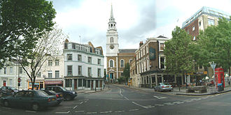 St James's Church, Clerkenwell - St James's Church and Clerkenwell Green