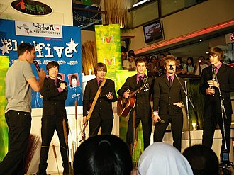 The Click Five - Click Five interviewed in Kuala Lumpur in April 2006, wearing their then-trademark outfits