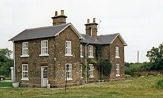 Cliffe, Selby - Former station building of Cliffe Common