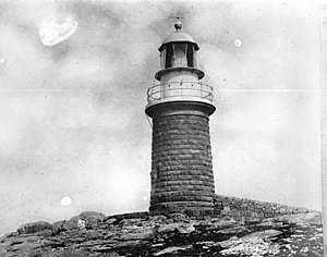 Cliffy Island Lighthouse - Cliffy Island Lighthouse, 1917