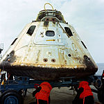 Close-up view of the Apollo 9 Command Module (CM).jpg