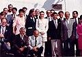 Club Rotario de Xalapa - rededicación en 1994 de la placa de 1946 a WKB.jpg